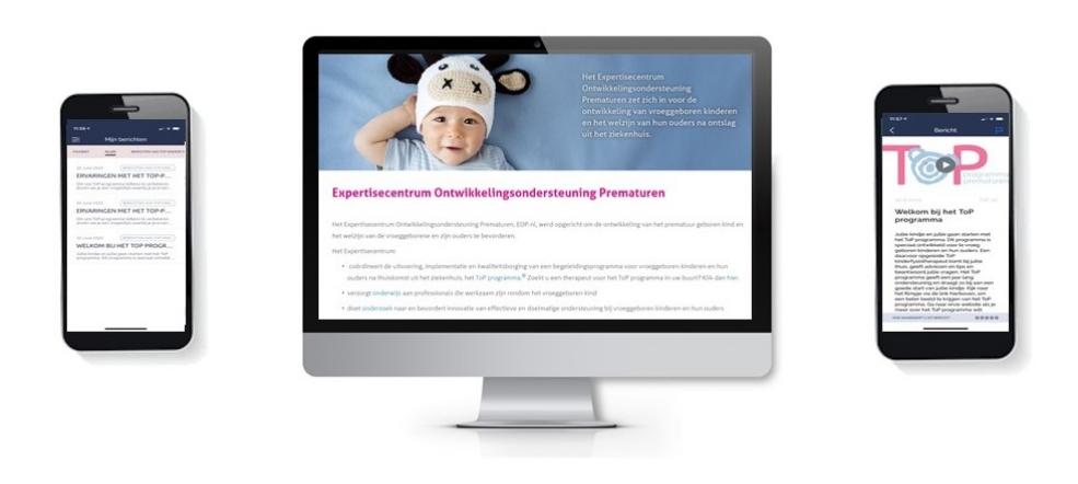 Voorbeeld EOP Website