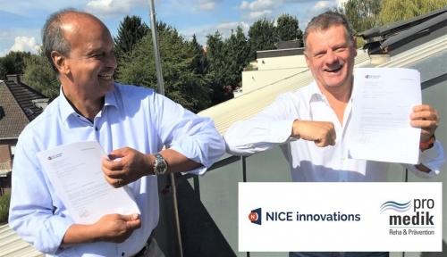 ProMedik en NICE Innovations tekeken contract